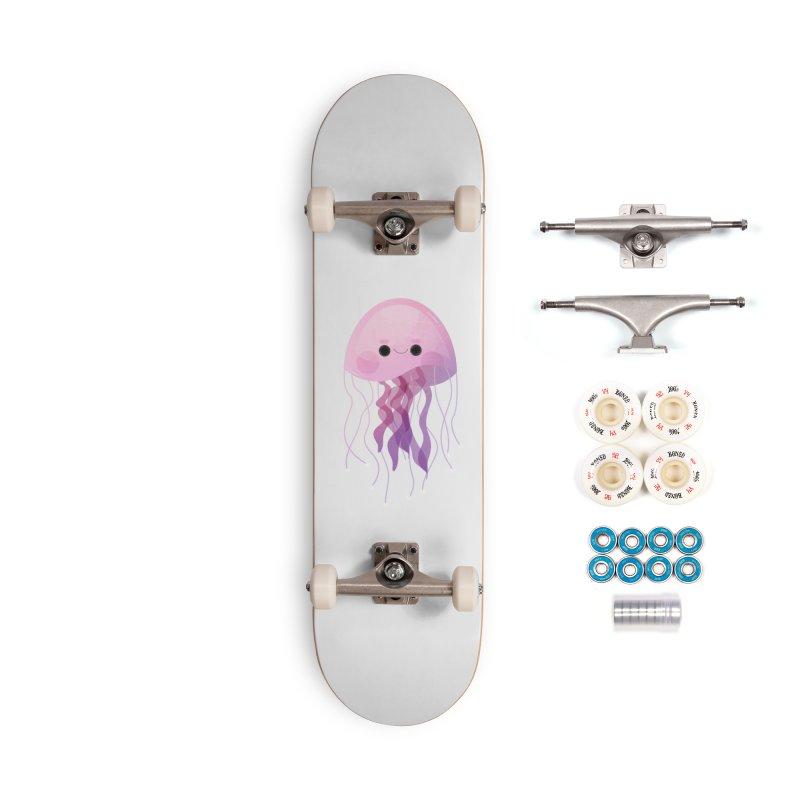 Jellyfish Accessories Skateboard by theladyernestember's Artist Shop