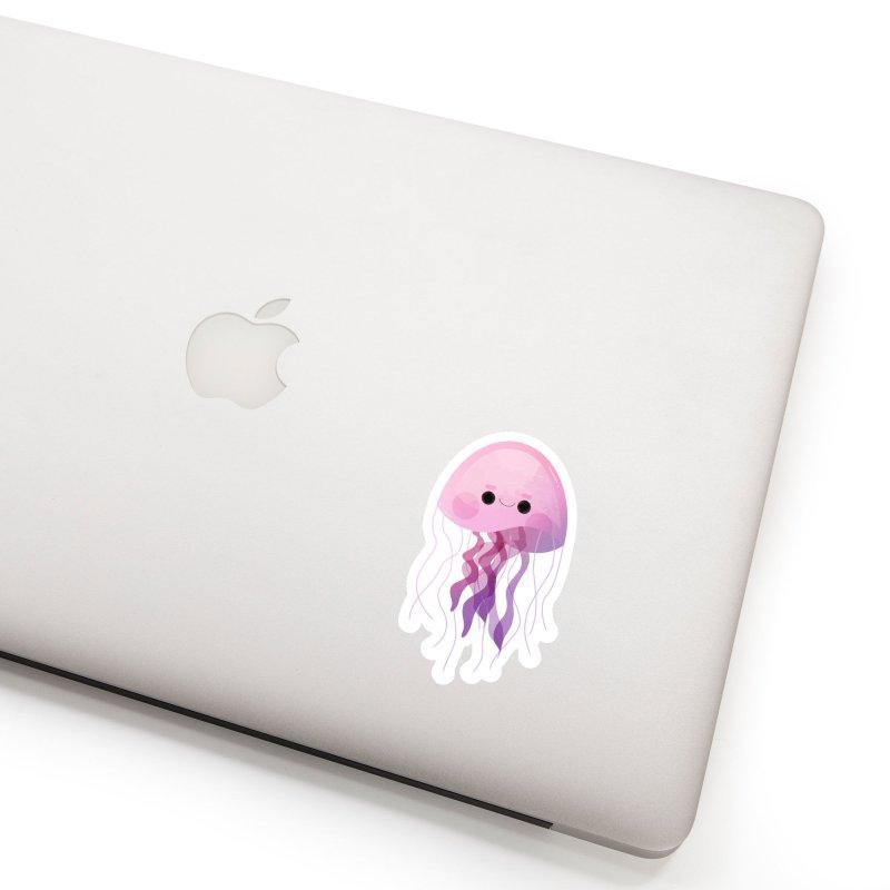 Jellyfish Accessories Sticker by theladyernestember's Artist Shop