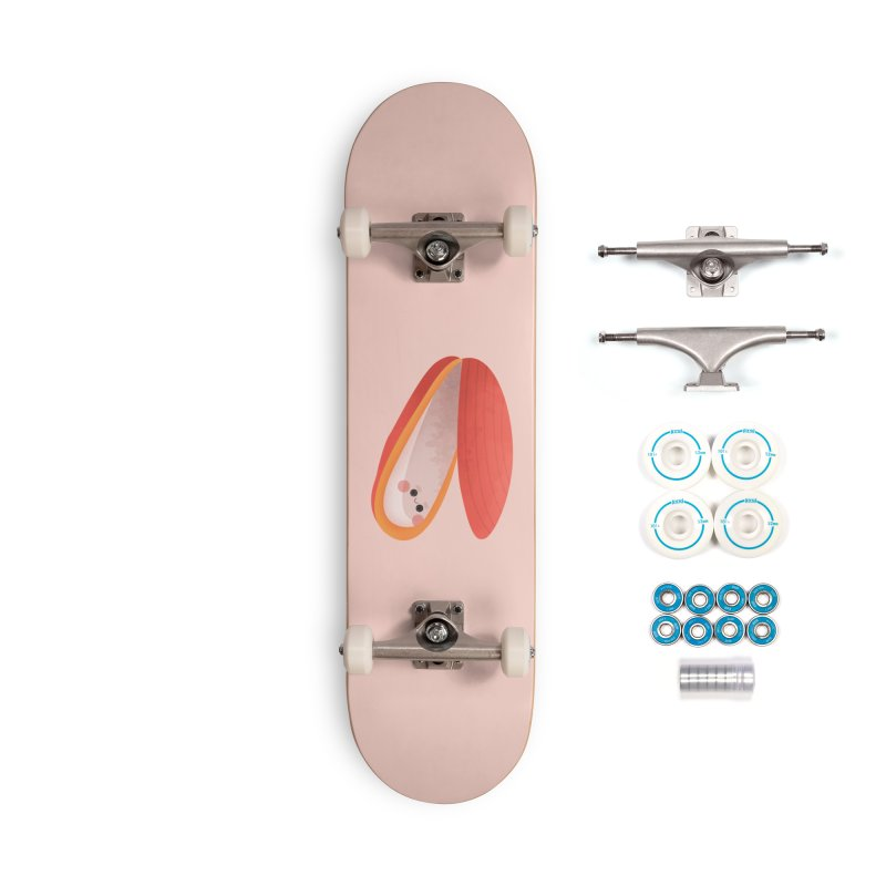 Clam Accessories Skateboard by theladyernestember's Artist Shop