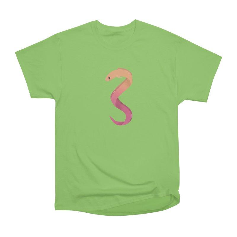 Eel Men's Heavyweight T-Shirt by theladyernestember's Artist Shop