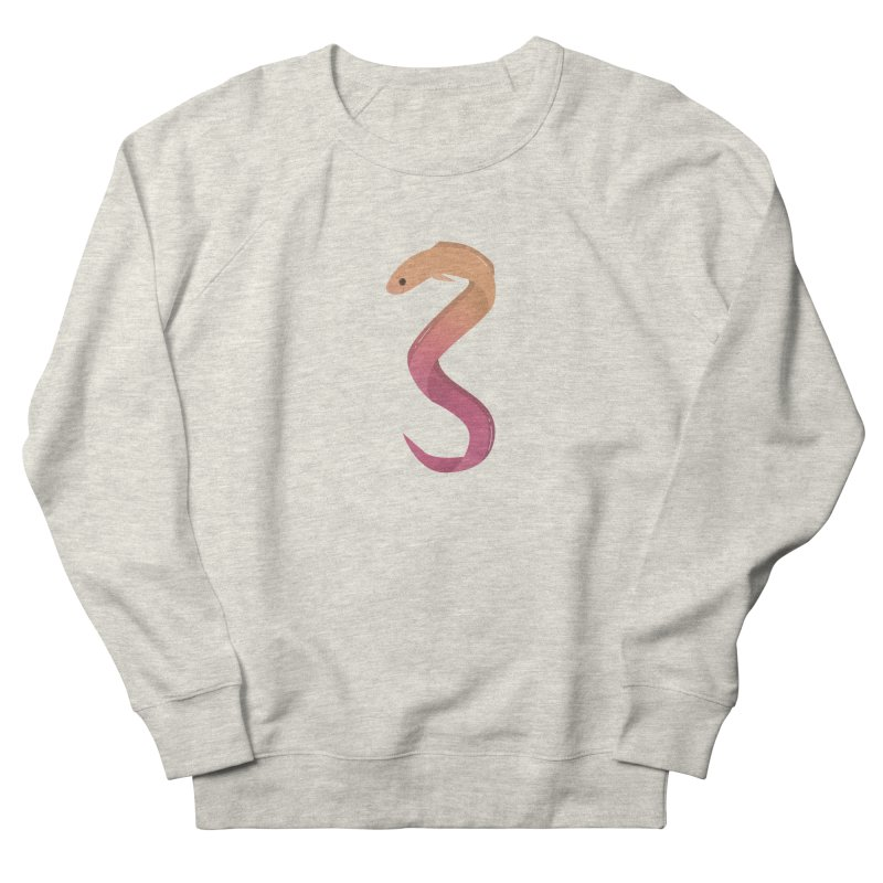 Eel Women's French Terry Sweatshirt by theladyernestember's Artist Shop