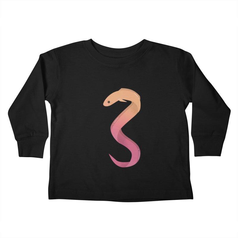Eel Kids Toddler Longsleeve T-Shirt by theladyernestember's Artist Shop