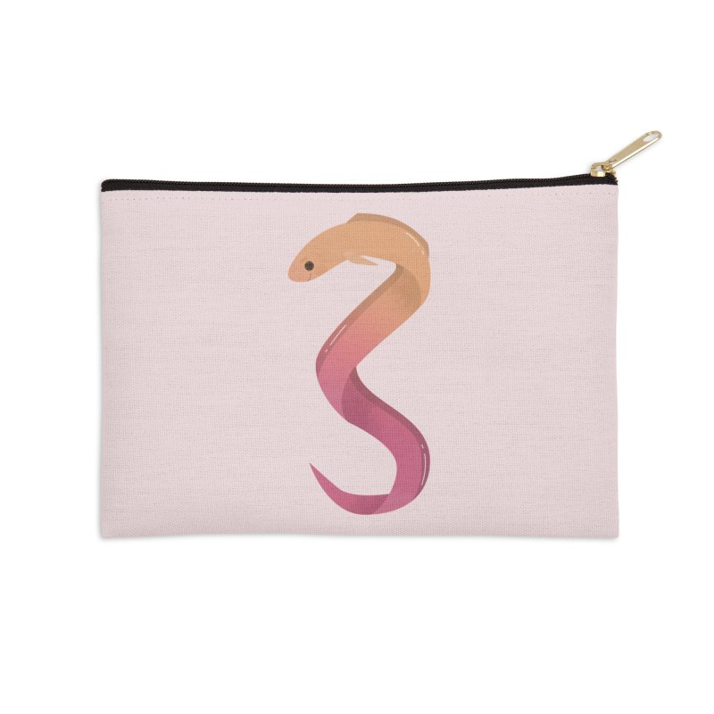 Eel Accessories Zip Pouch by theladyernestember's Artist Shop