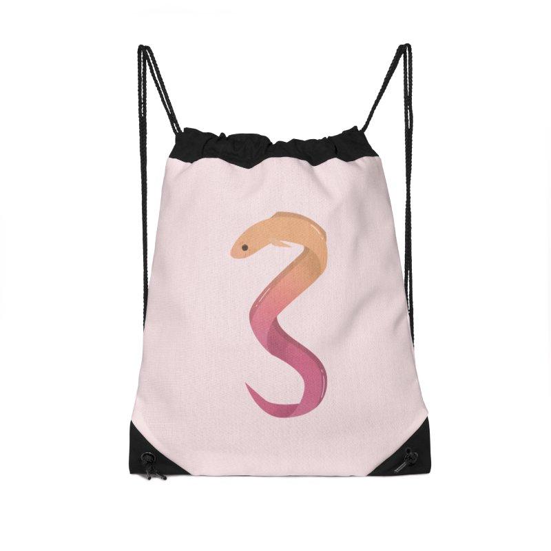 Eel Accessories Drawstring Bag Bag by theladyernestember's Artist Shop