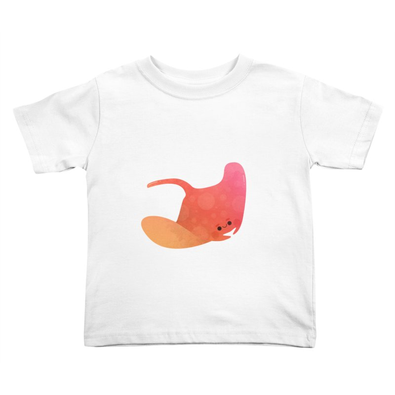 Ray Kids Toddler T-Shirt by theladyernestember's Artist Shop