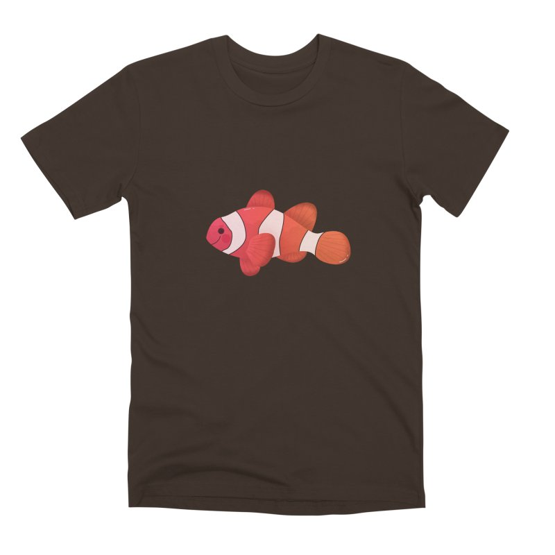 Clownfish Men's Premium T-Shirt by theladyernestember's Artist Shop