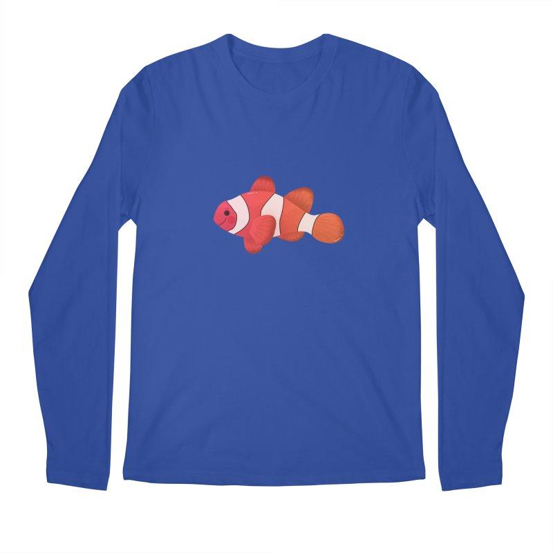 Clownfish Men's Regular Longsleeve T-Shirt by theladyernestember's Artist Shop