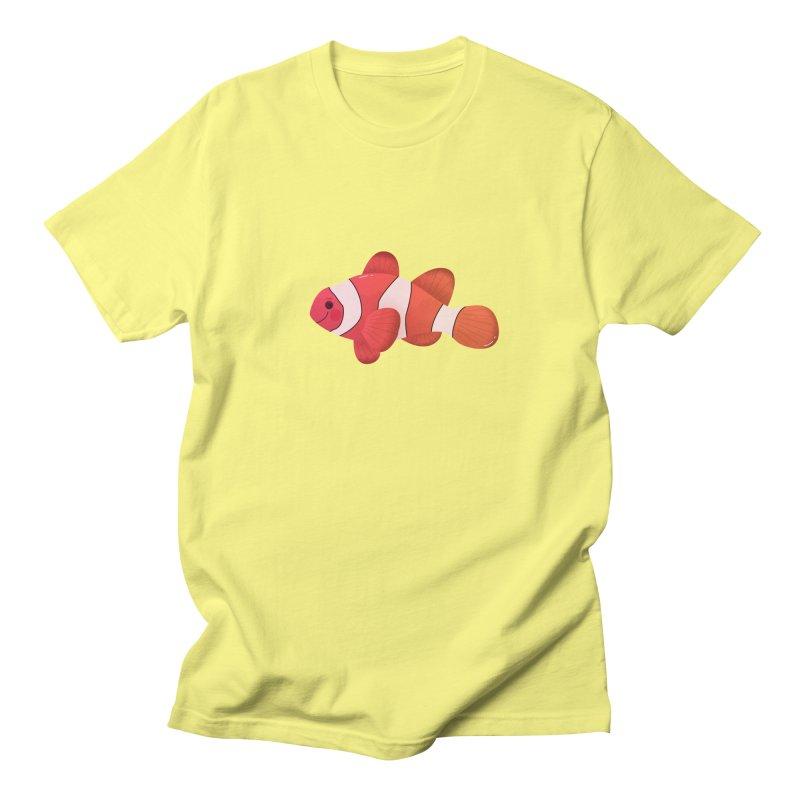 Clownfish Men's Regular T-Shirt by theladyernestember's Artist Shop