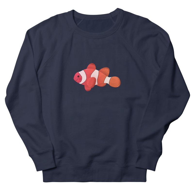 Clownfish Women's French Terry Sweatshirt by theladyernestember's Artist Shop