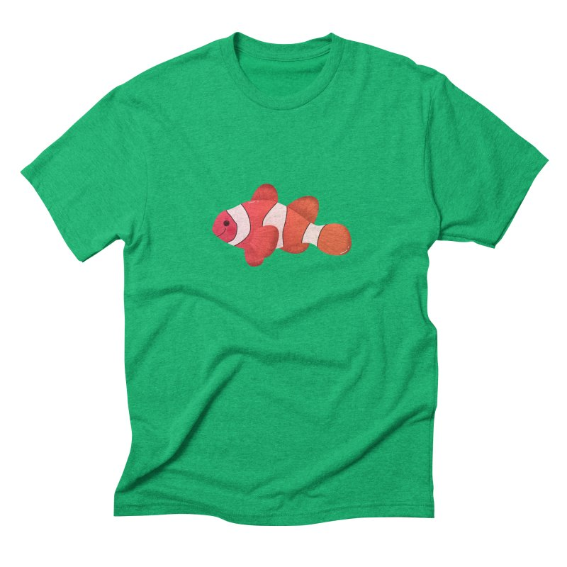 Clownfish Men's Triblend T-Shirt by theladyernestember's Artist Shop