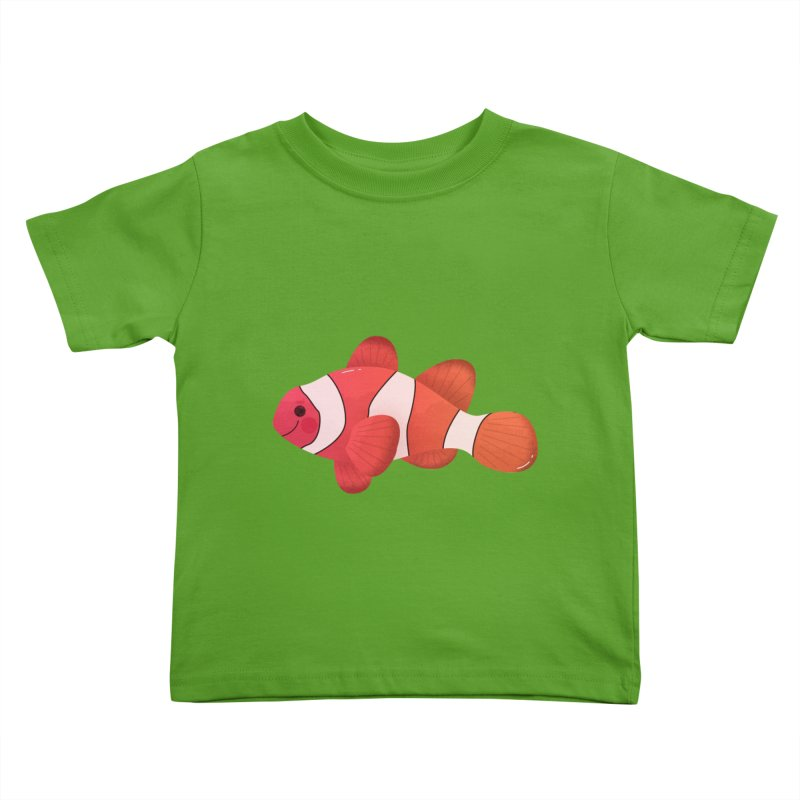 Clownfish Kids Toddler T-Shirt by theladyernestember's Artist Shop