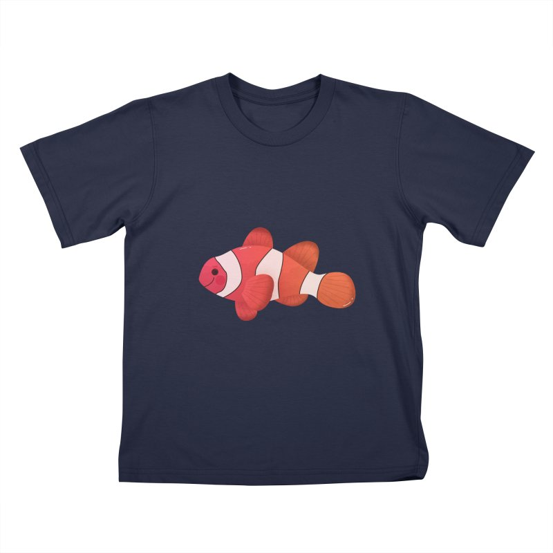 Clownfish Kids T-Shirt by theladyernestember's Artist Shop