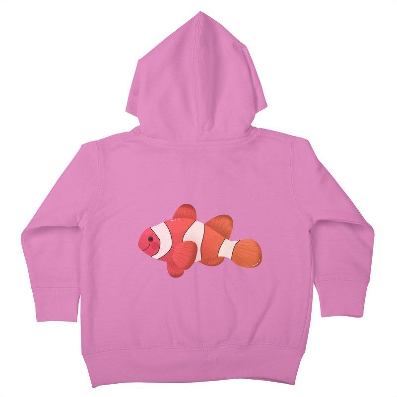 Clownfish Kids Toddler Zip-Up Hoody by theladyernestember's Artist Shop