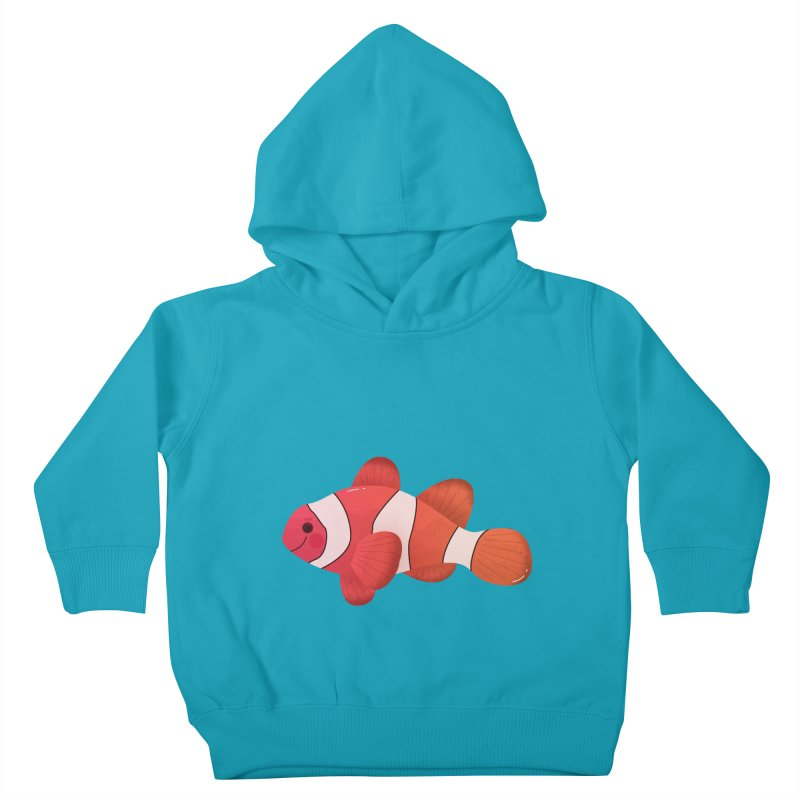 Clownfish Kids Toddler Pullover Hoody by theladyernestember's Artist Shop