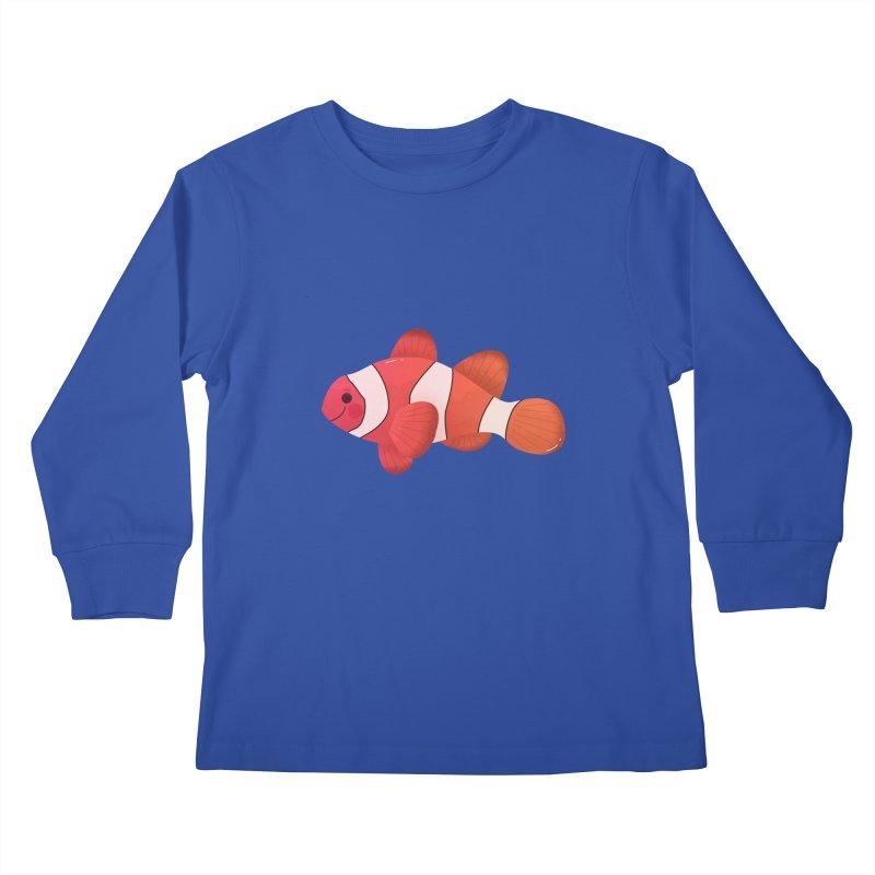Clownfish Kids Longsleeve T-Shirt by theladyernestember's Artist Shop