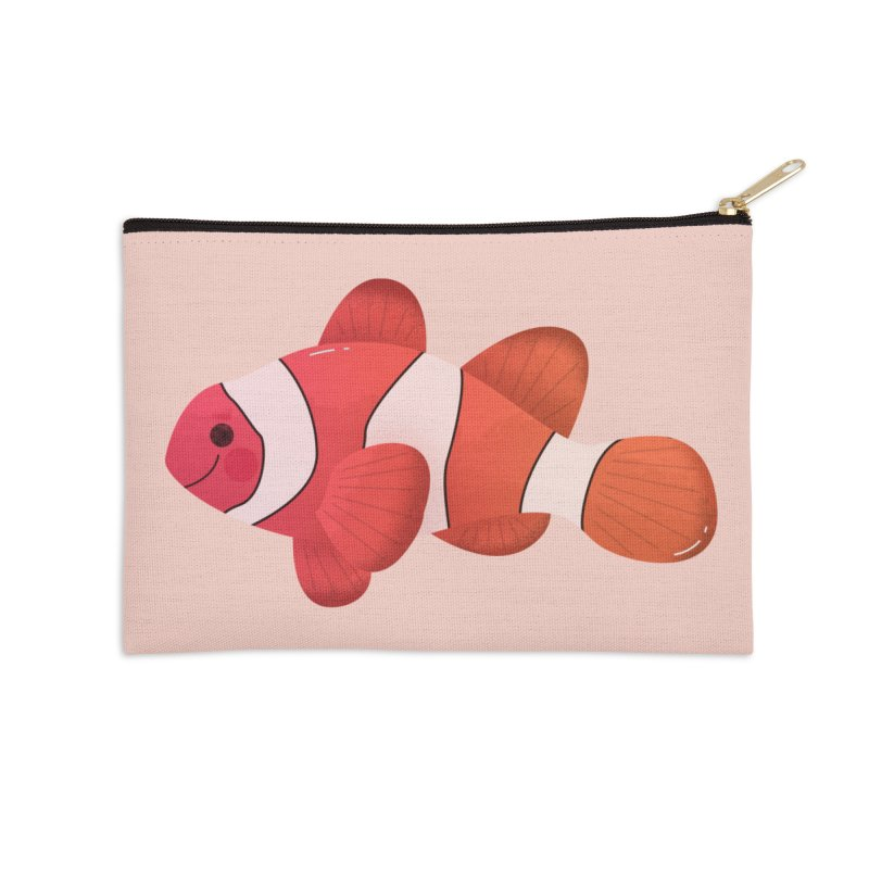 Clownfish Accessories Zip Pouch by theladyernestember's Artist Shop
