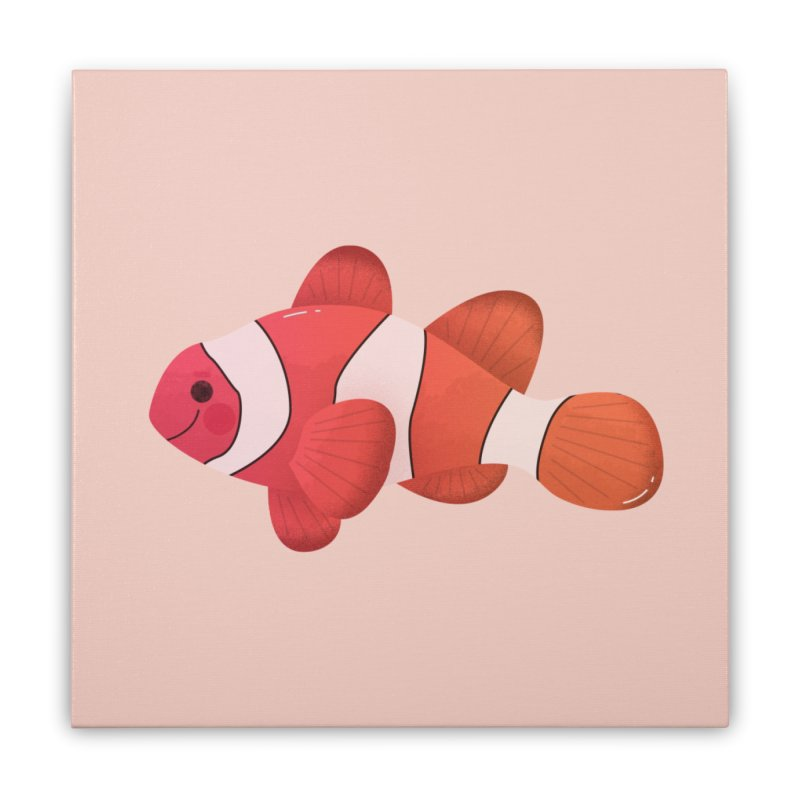 Clownfish Home Stretched Canvas by theladyernestember's Artist Shop