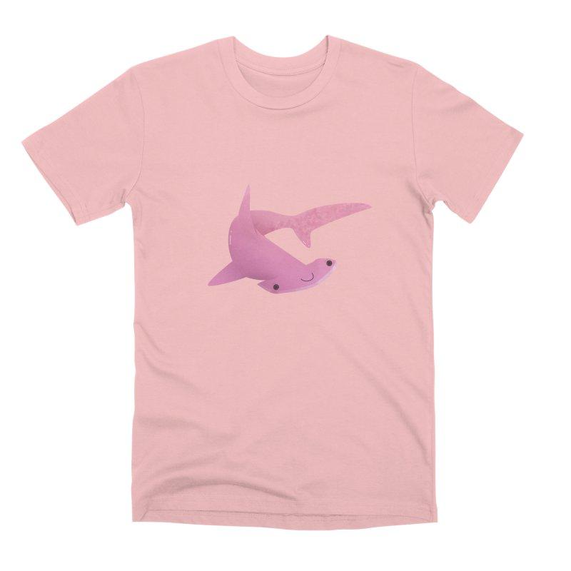 Hammerhead Shark Men's Premium T-Shirt by theladyernestember's Artist Shop