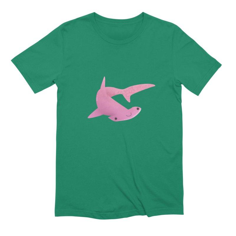 Hammerhead Shark Men's Extra Soft T-Shirt by theladyernestember's Artist Shop