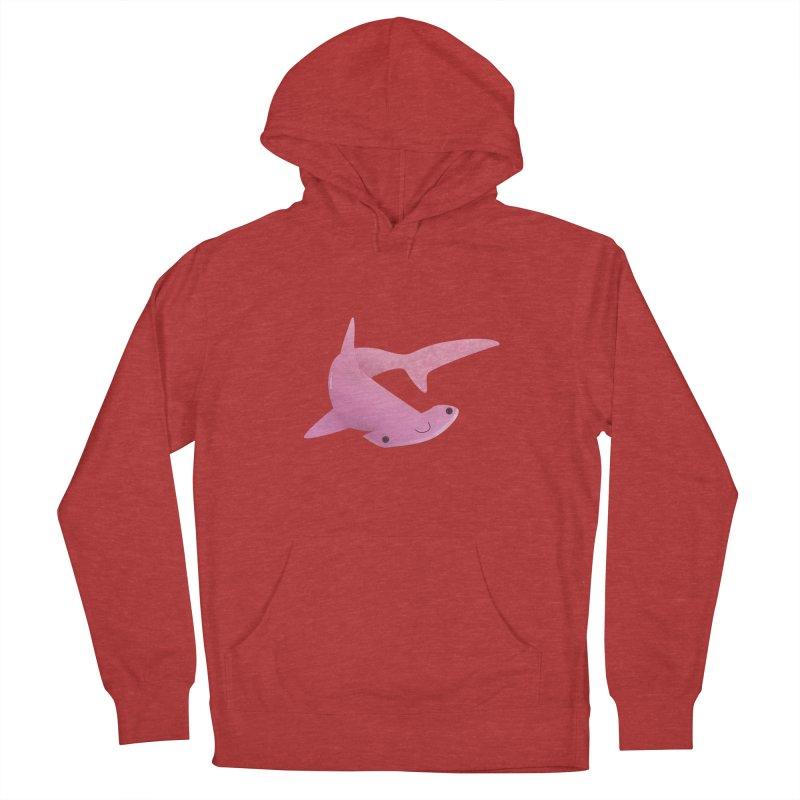 Hammerhead Shark Women's French Terry Pullover Hoody by theladyernestember's Artist Shop
