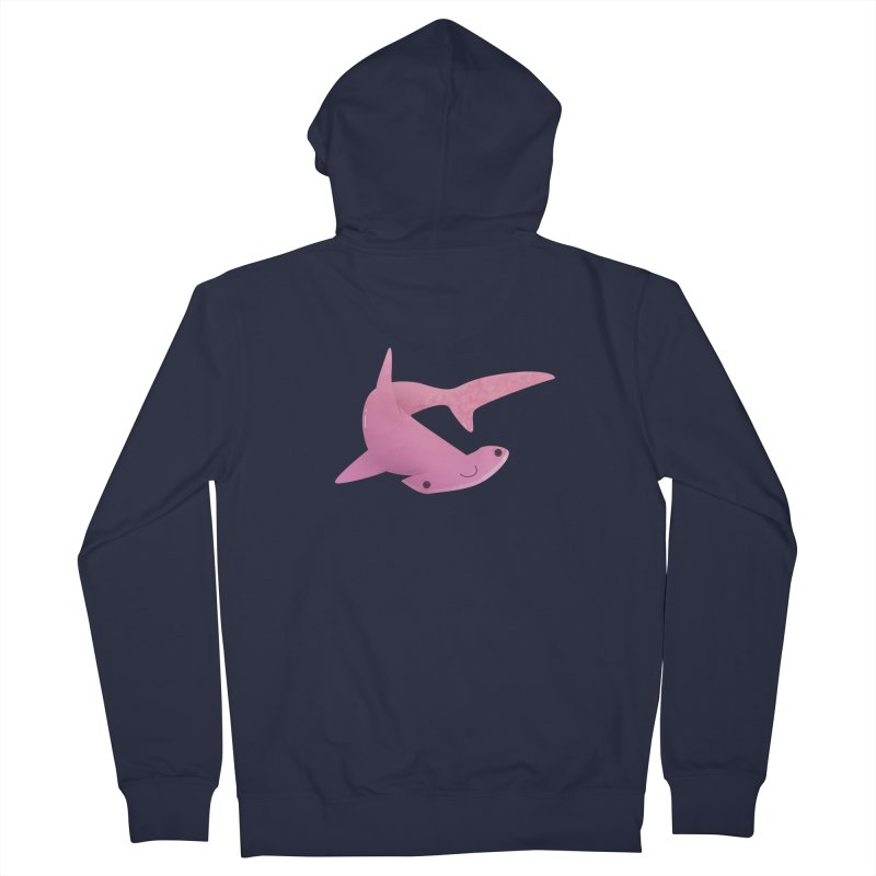 Hammerhead Shark Women's French Terry Zip-Up Hoody by theladyernestember's Artist Shop