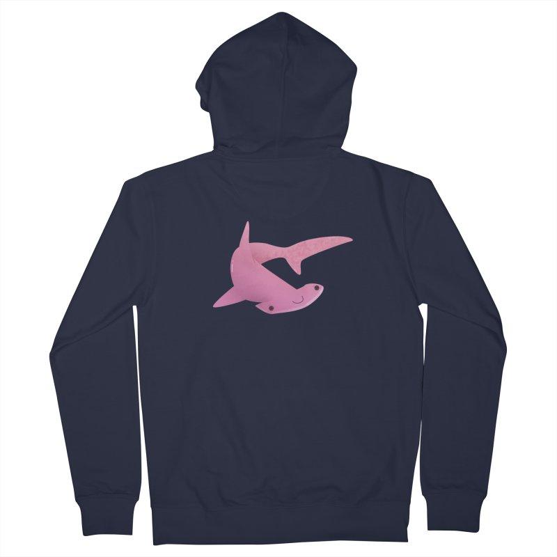 Hammerhead Shark Men's French Terry Zip-Up Hoody by theladyernestember's Artist Shop