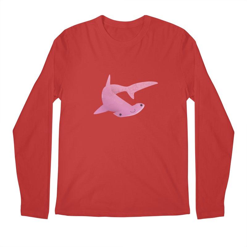 Hammerhead Shark Men's Regular Longsleeve T-Shirt by theladyernestember's Artist Shop