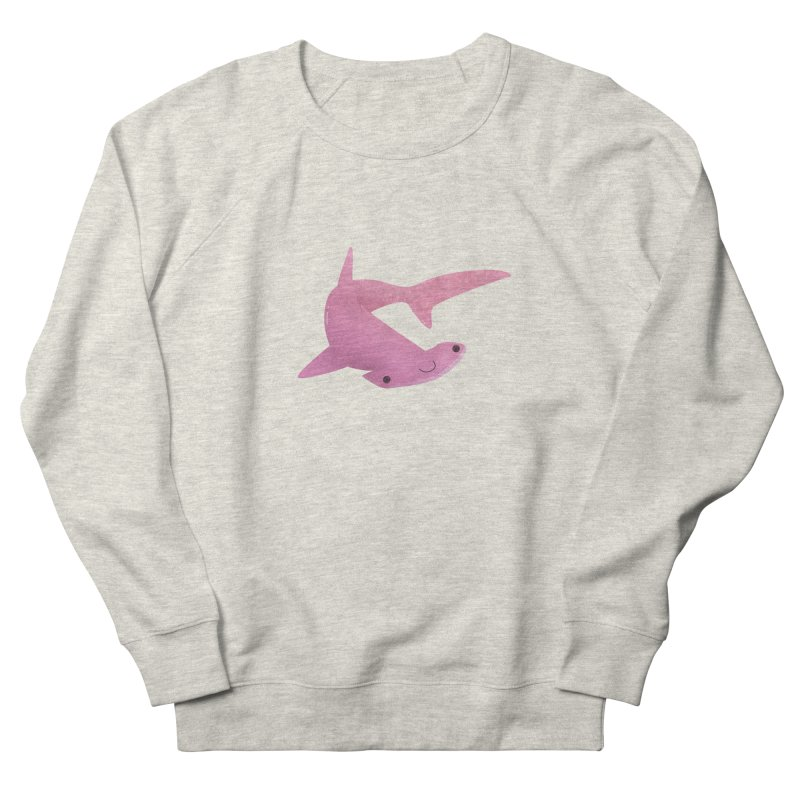 Hammerhead Shark Men's French Terry Sweatshirt by theladyernestember's Artist Shop