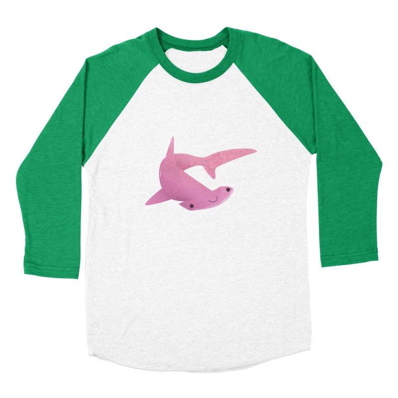 Hammerhead Shark Women's Baseball Triblend Longsleeve T-Shirt by theladyernestember's Artist Shop