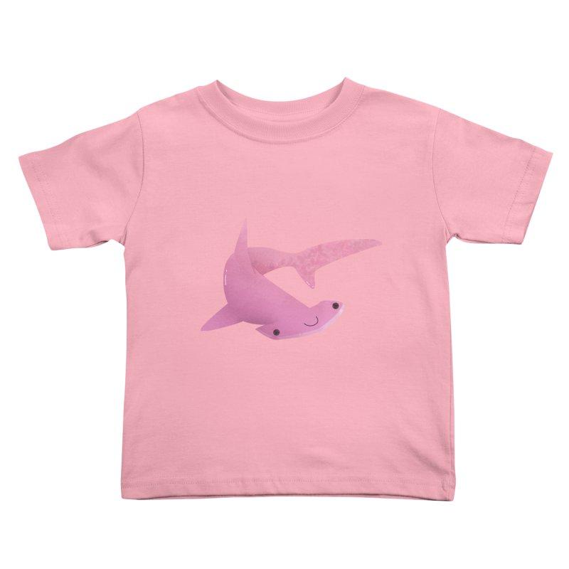Hammerhead Shark Kids Toddler T-Shirt by theladyernestember's Artist Shop