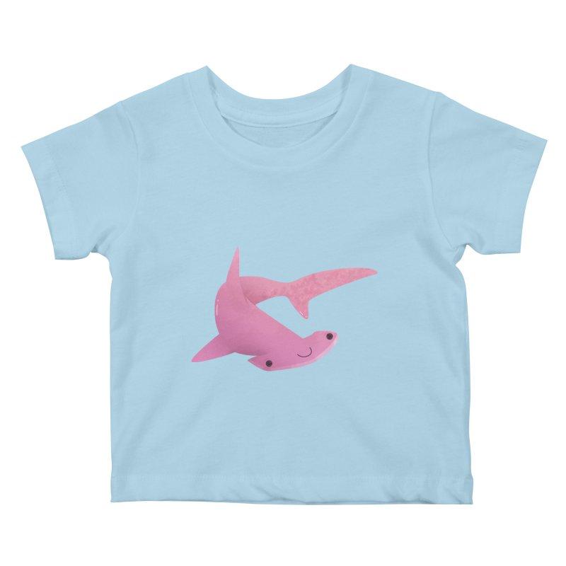 Hammerhead Shark Kids Baby T-Shirt by theladyernestember's Artist Shop
