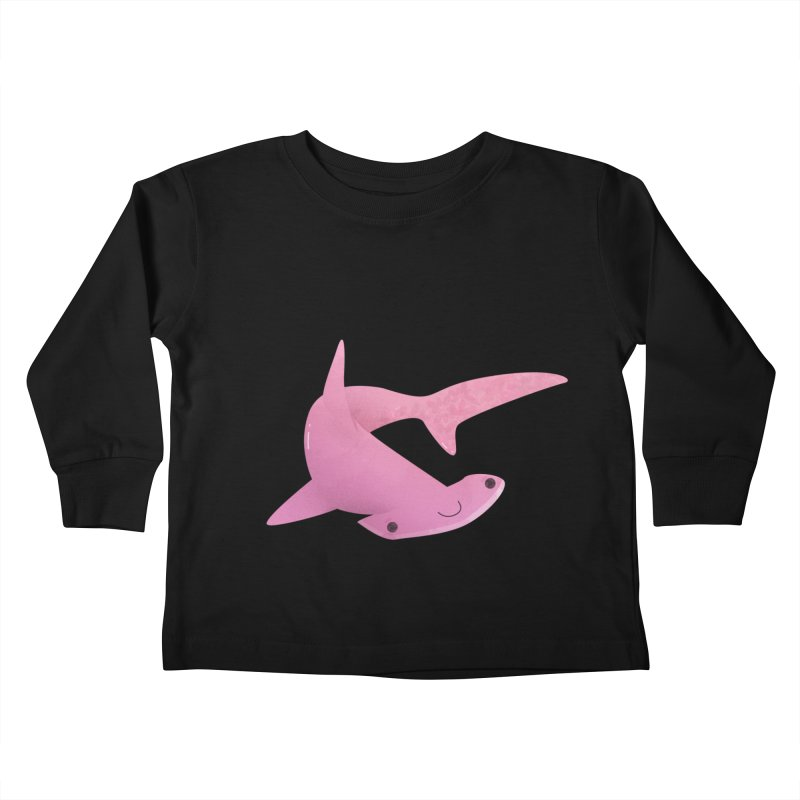 Hammerhead Shark Kids Toddler Longsleeve T-Shirt by theladyernestember's Artist Shop
