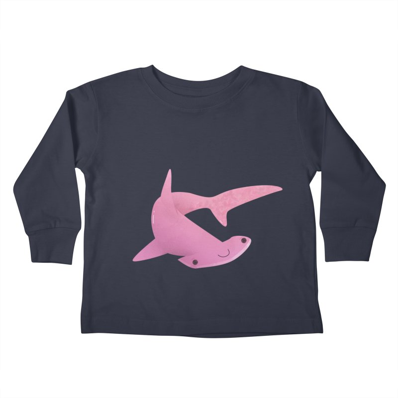 Hammerhead Shark Kids Toddler Longsleeve T-Shirt by theladyernestember's Artist Shop