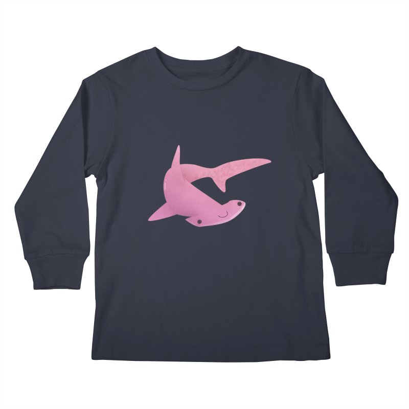Hammerhead Shark Kids Longsleeve T-Shirt by theladyernestember's Artist Shop