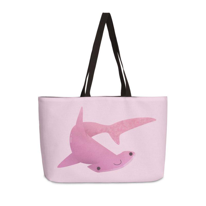 Hammerhead Shark Accessories Weekender Bag Bag by theladyernestember's Artist Shop