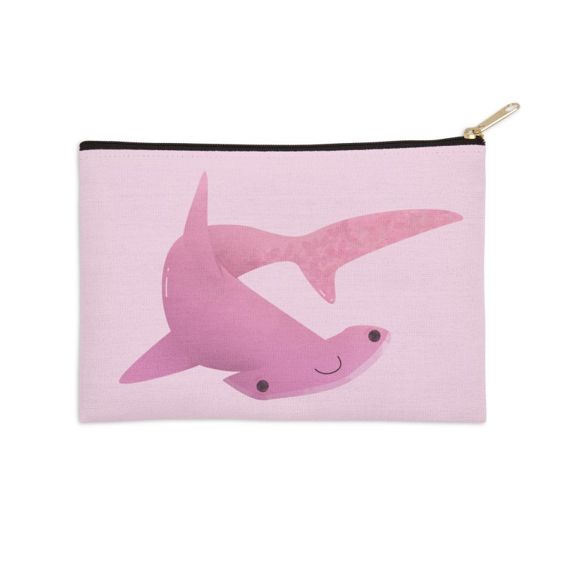 Hammerhead Shark Accessories Zip Pouch by theladyernestember's Artist Shop