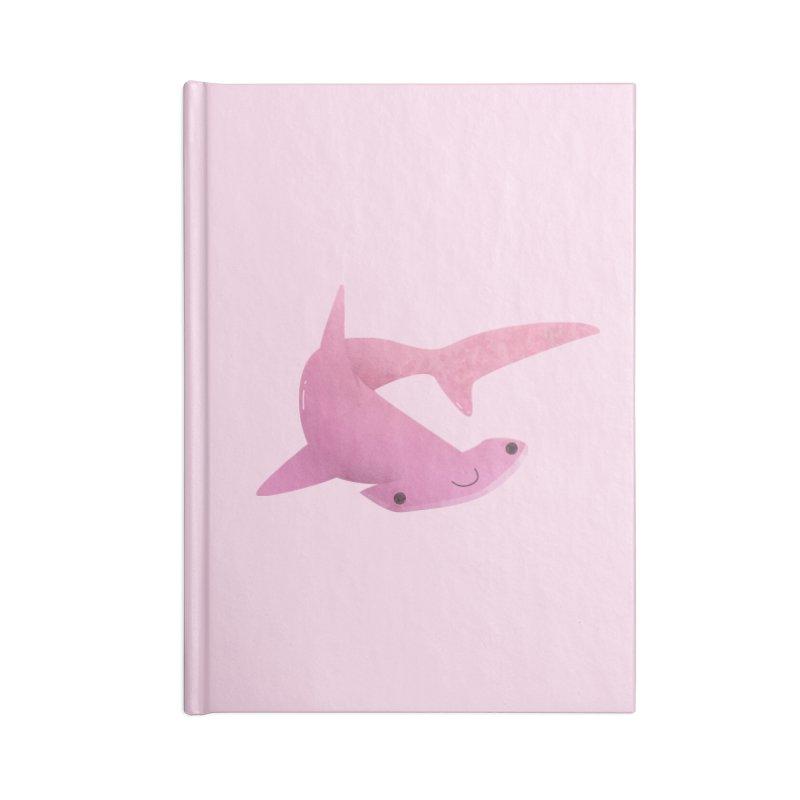 Hammerhead Shark Accessories Blank Journal Notebook by theladyernestember's Artist Shop
