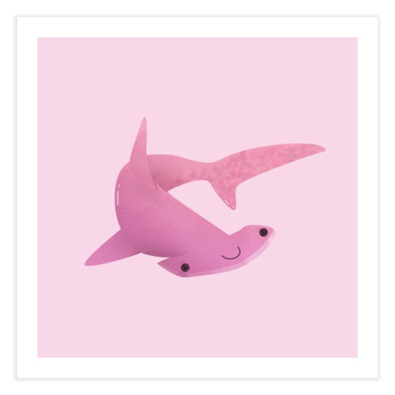 Hammerhead Shark Home Fine Art Print by theladyernestember's Artist Shop