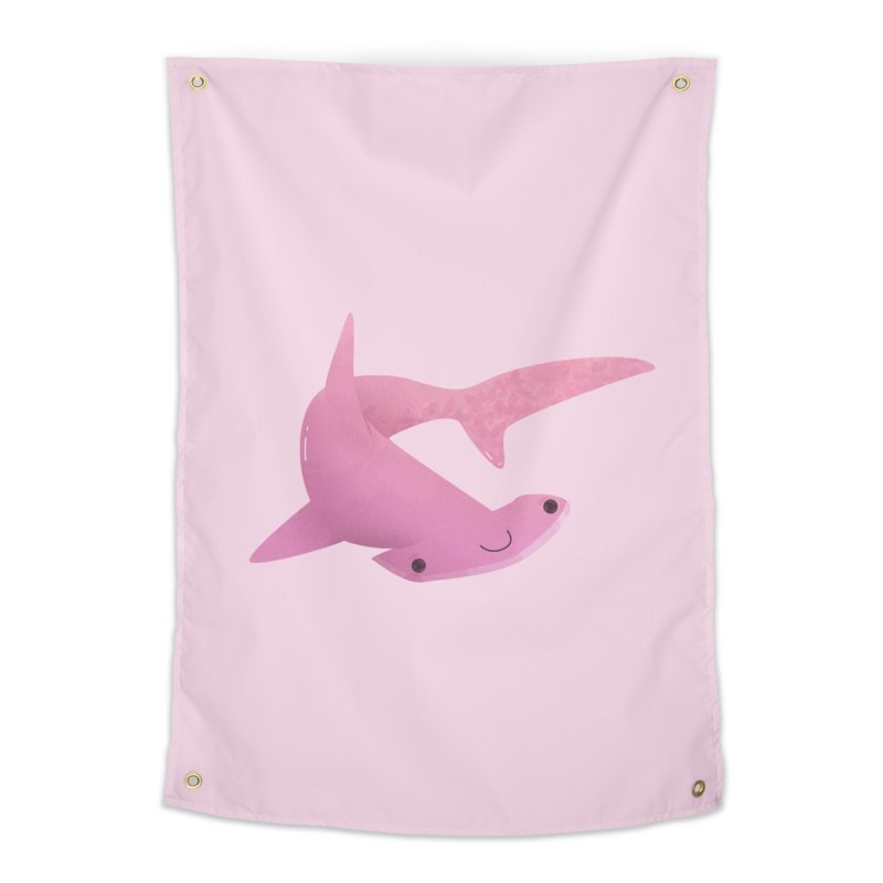 Hammerhead Shark Home Tapestry by theladyernestember's Artist Shop