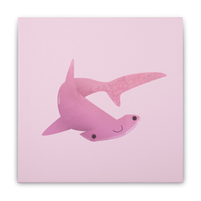 Hammerhead Shark Home Stretched Canvas by theladyernestember's Artist Shop