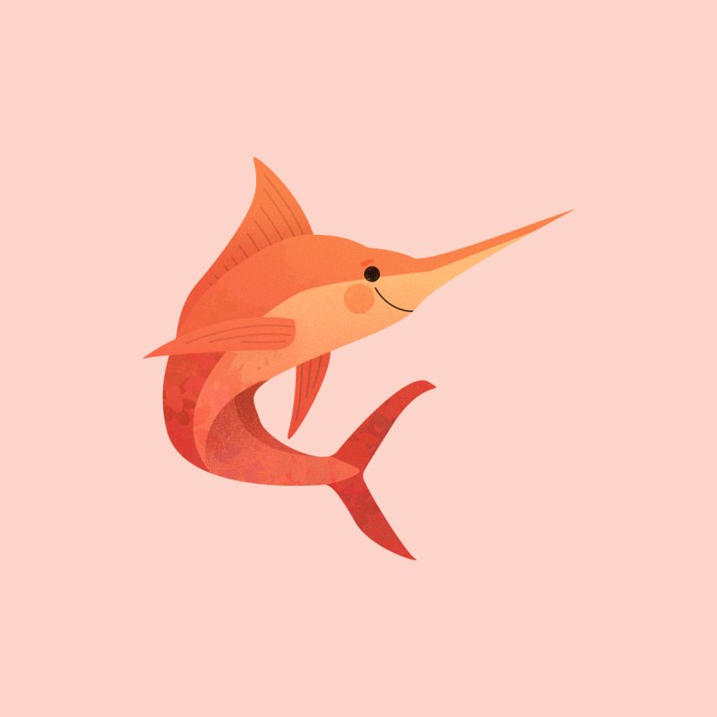 Marlin by theladyernestember's Artist Shop
