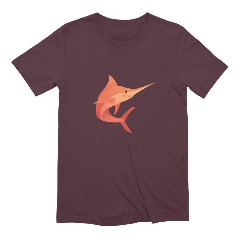 Marlin Men's Extra Soft T-Shirt by theladyernestember's Artist Shop