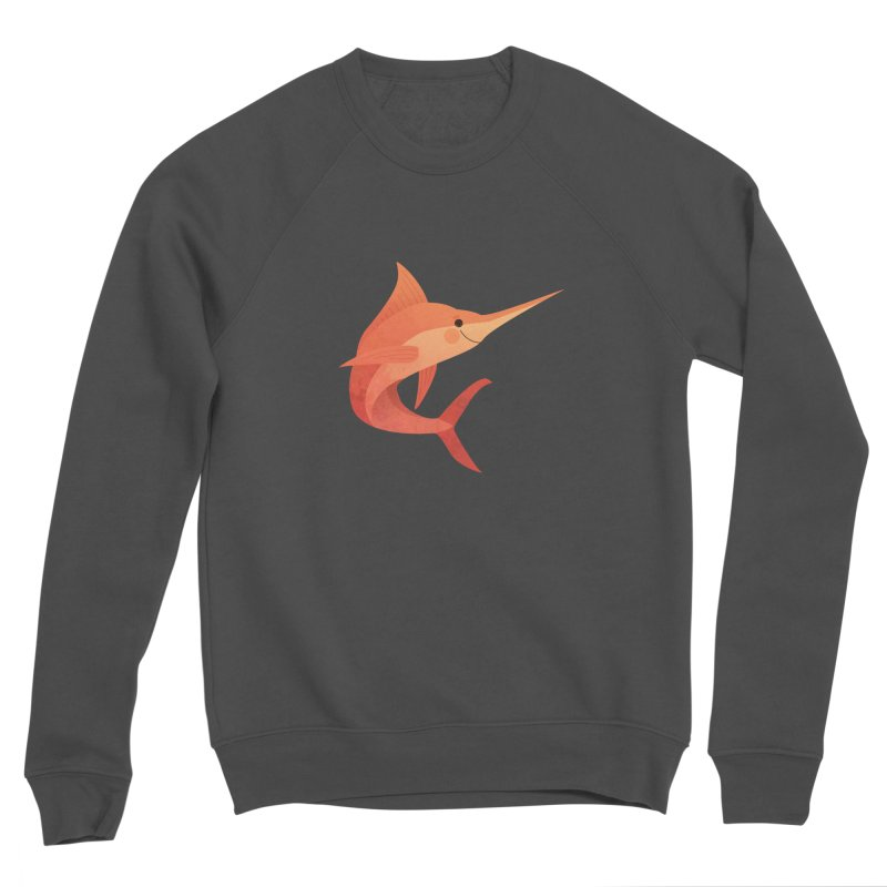 Marlin Women's Sponge Fleece Sweatshirt by theladyernestember's Artist Shop