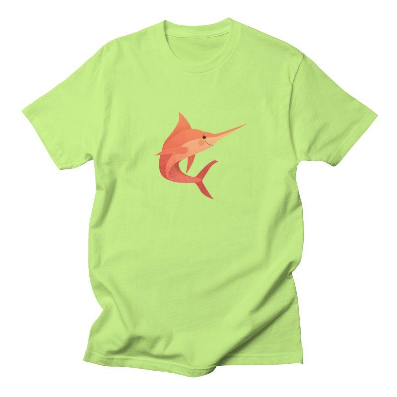 Marlin Women's Regular Unisex T-Shirt by theladyernestember's Artist Shop