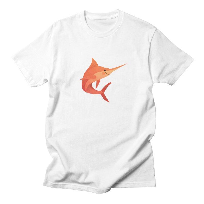 Marlin Men's Regular T-Shirt by theladyernestember's Artist Shop