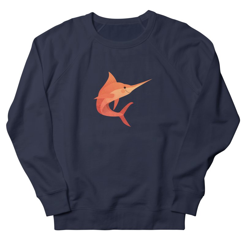 Marlin Women's French Terry Sweatshirt by theladyernestember's Artist Shop
