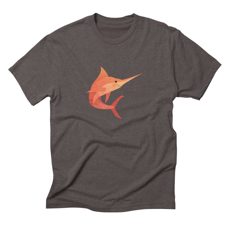 Marlin Men's Triblend T-Shirt by theladyernestember's Artist Shop