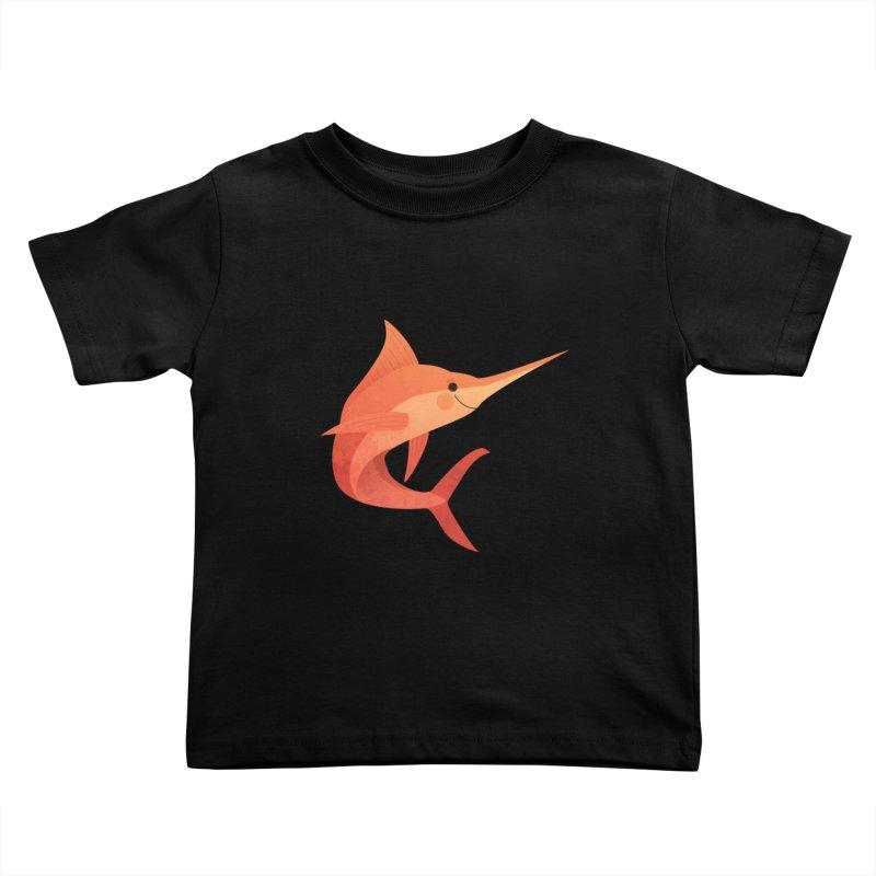 Marlin Kids Toddler T-Shirt by theladyernestember's Artist Shop