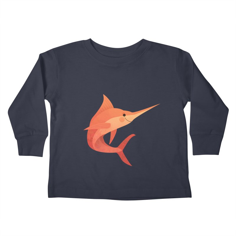 Marlin Kids Toddler Longsleeve T-Shirt by theladyernestember's Artist Shop