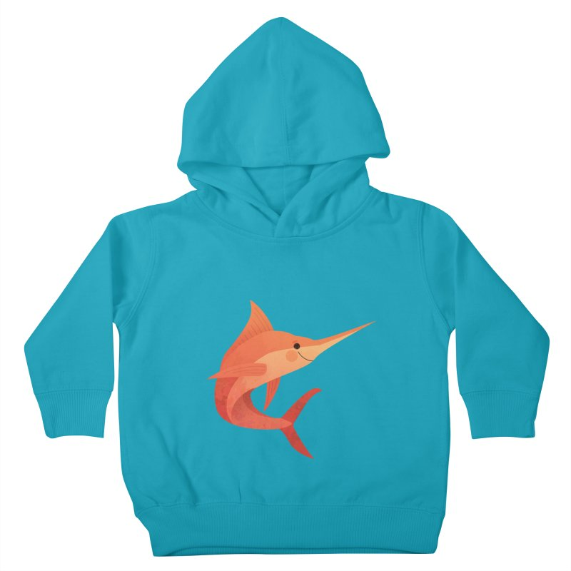 Marlin Kids Toddler Pullover Hoody by theladyernestember's Artist Shop